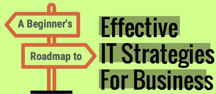 A beginner roadmapto Effective IT Strategies For Business