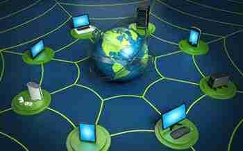 Through internet your data is revolving around the world