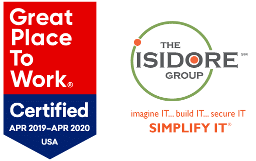 The Isidore Group, a technology support company, announced that it has been Great Place to Work-Certified