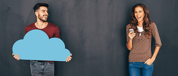 Cloud makes it easy for people to access data